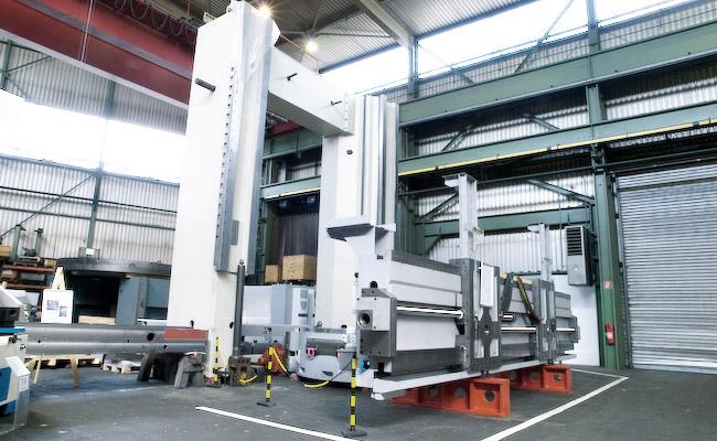 EDM Technik GmbH, Werkshalle, Komplette mechanische Überholung, Modernisierungen