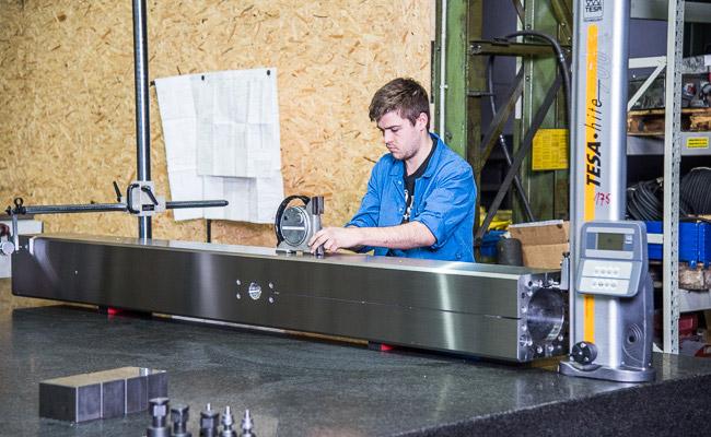 EDM Technik GmbH, Messen, Prüfen, Analyse, Genauigkeit von Fertigungseinrichtungen