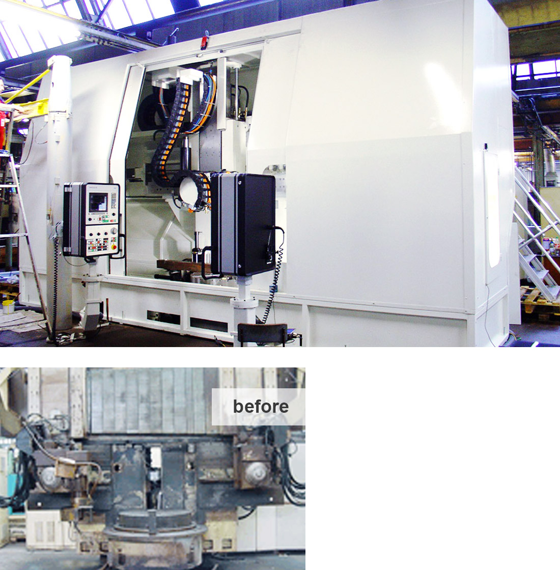EDM Technik, Modernization Vertical Grinding Machine