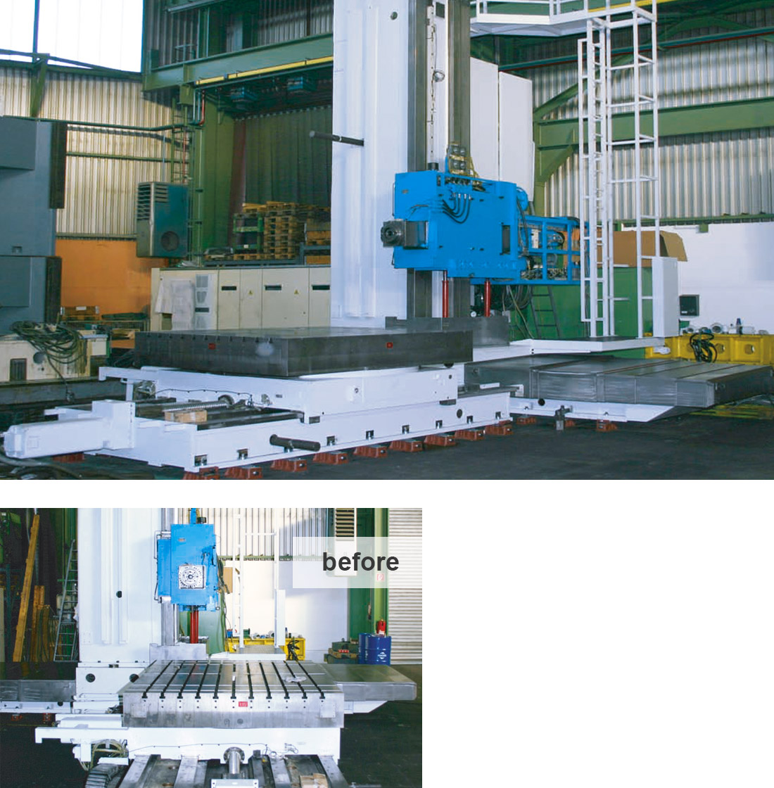 EDM Technik, Dörries machine tool production, Machine tool modernization, Increase of Productivity