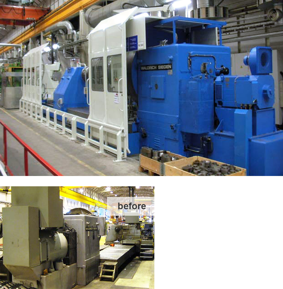 EDM Technik, Machine tool overhaul, Dörries machine tool production, Remanufacturing services