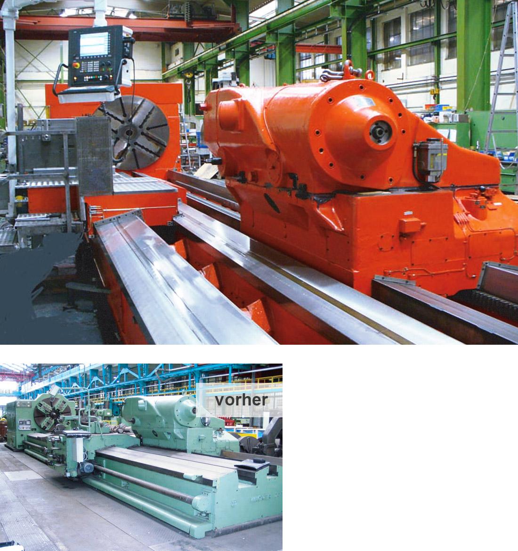 EDM Technik, Integration von Schutzeinrichtungen, Generalüberholung, Modernisierungen von Werkzeugmaschinen