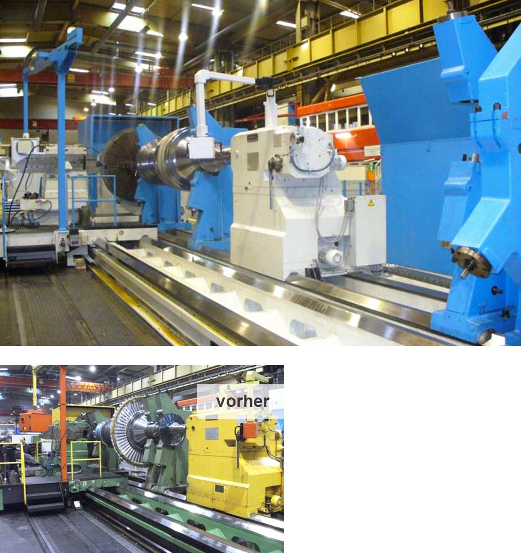 EDM Technik, Modernisierungen von Werkzeugmaschinen, Reparatur von Werkzeugmaschinen, Dörries Produktion