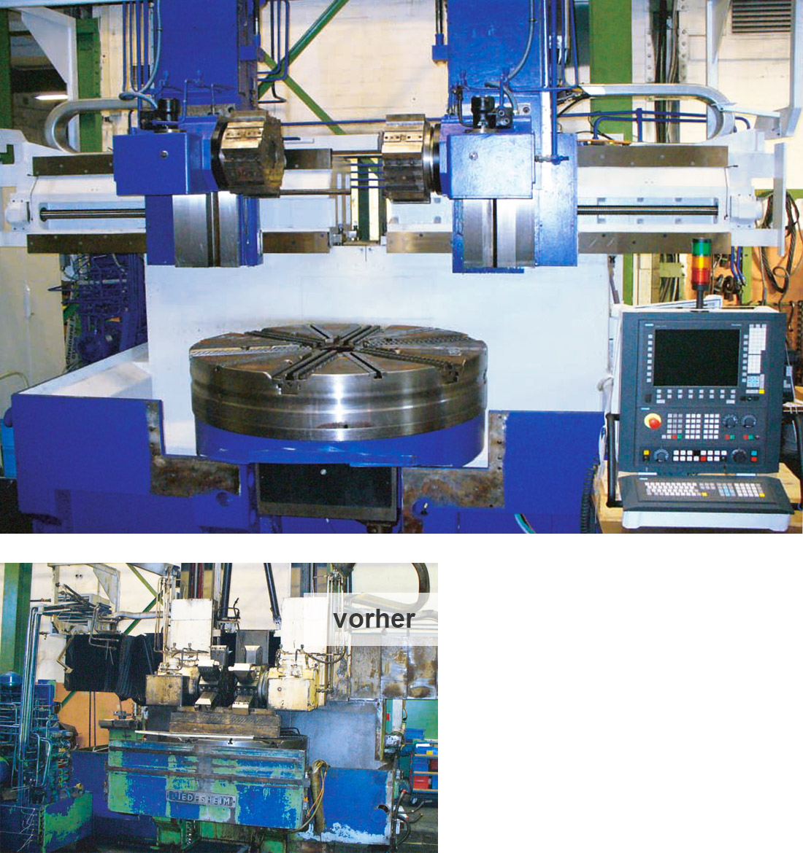 EDM Technik, Dörries Produktion, Reparatur und Wartung von Werkzeugmaschinen, Generalüberholungen