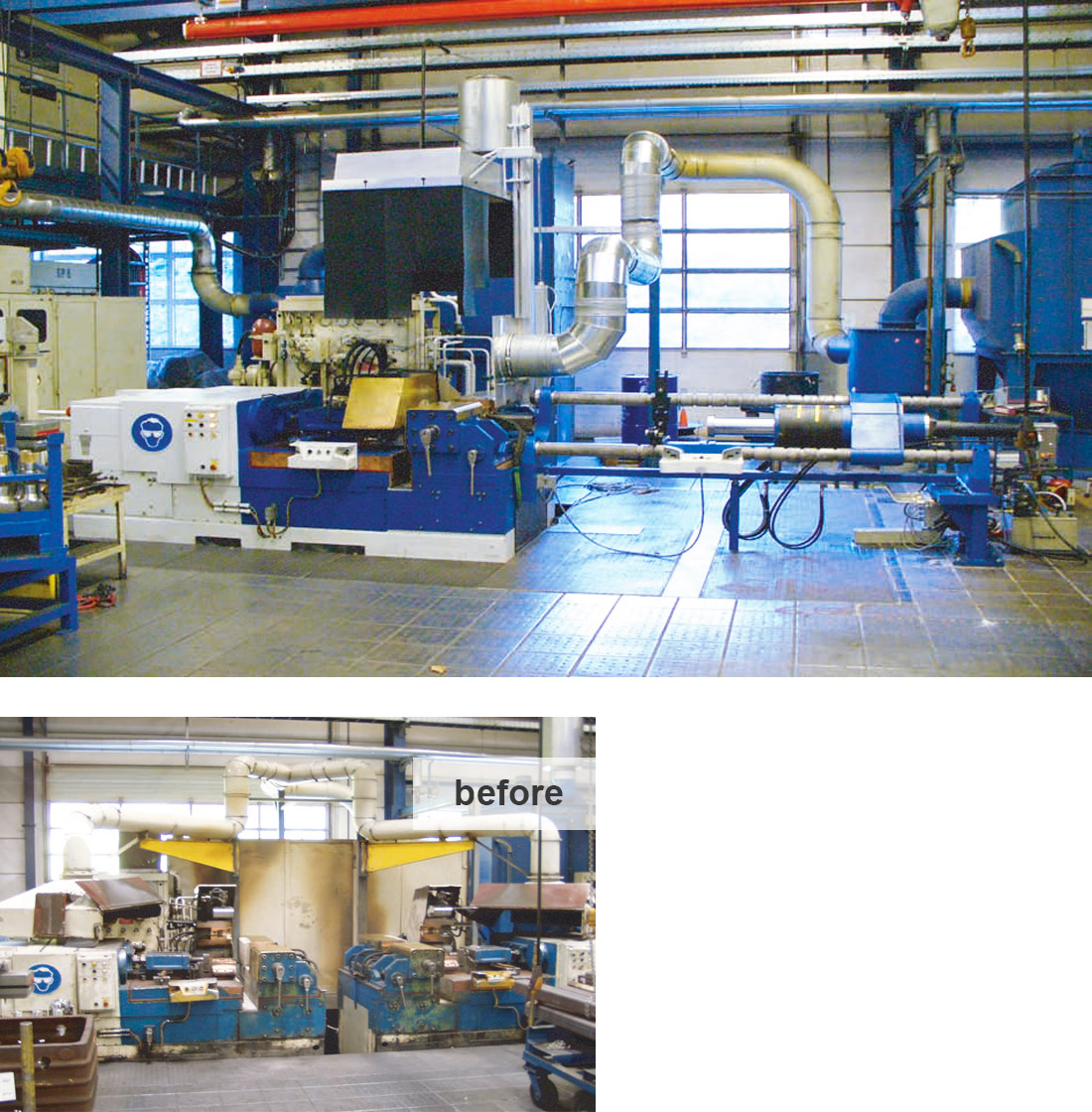 EDM Technik, Increase of Productivity, Dörries machine tool production, Machine tool overhaul