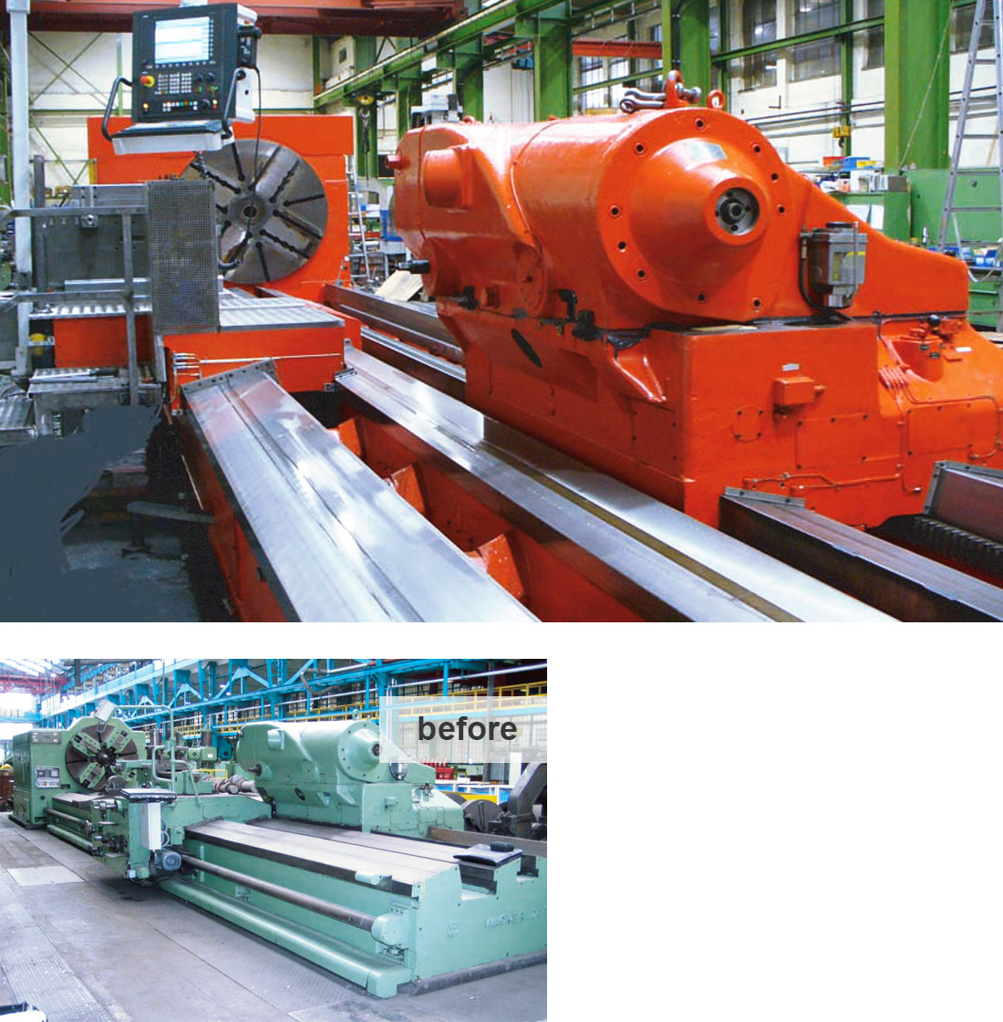 EDM Technik, Professional Project Management, Machine tool modernization, Dörries machine tool production