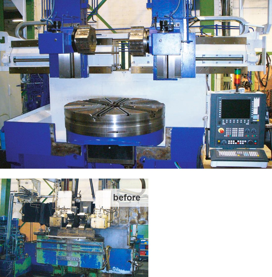 EDM Technik, Modernization solutions, Increase of Productivity, Machine tool manufacturing