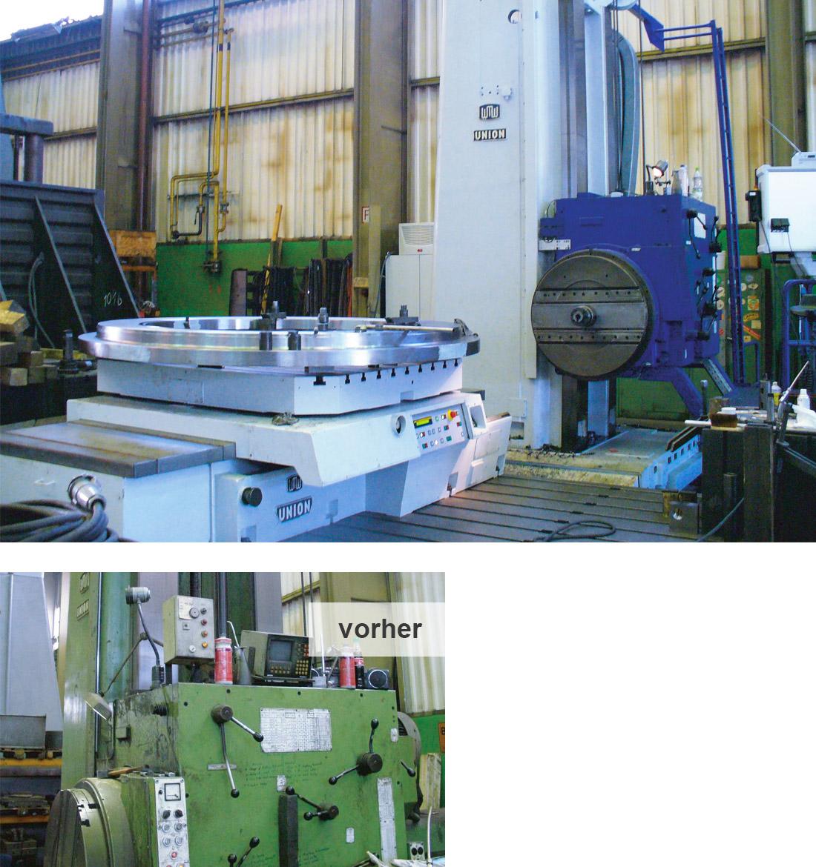 EDM Technik, Modernisierungen von Werkzeugmaschinen, Dörries Produktion, Sonderlösungen