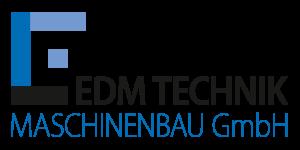 Logo EDM Technik, Modernisierung, Überholung, Maschinenüberholung